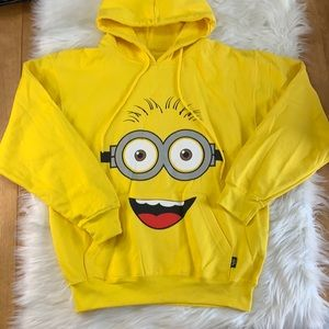 Pacific & Co Minion hoodie like new Kevin